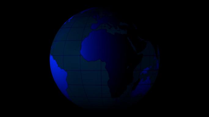 Transparent Alpha Channel Globe 3