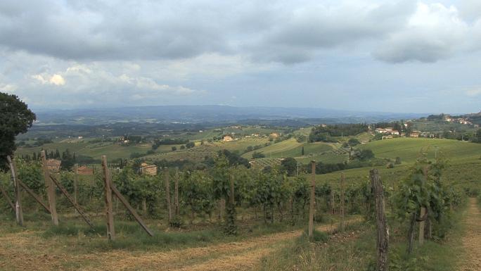 Tuscany near San Gimignano View 2