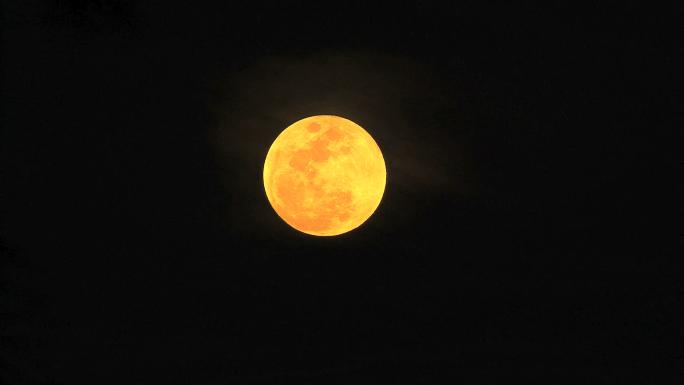 Full Moon Orange and Yellow