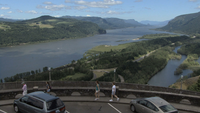 Columbia Gorge View 1a