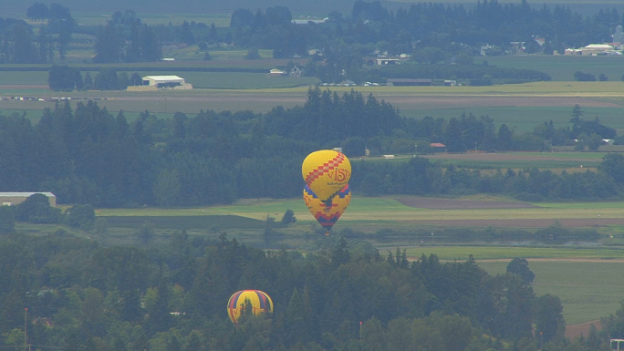 OR Willamette Valley Hot Air Balloons 1