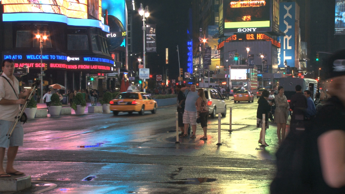 Corner of New York City Intersection
