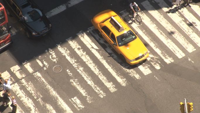 Closeup of New York City Crosswalk 2