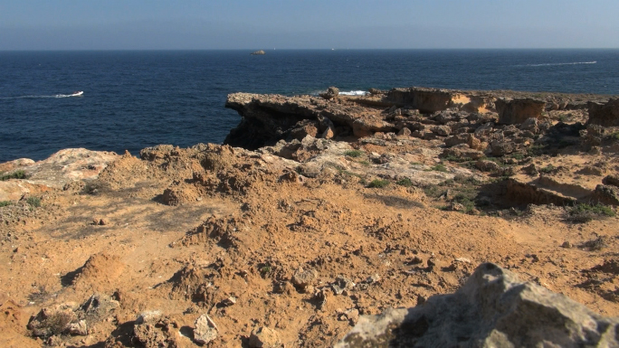 Distant View of Ocean from Spanish Rocks 2