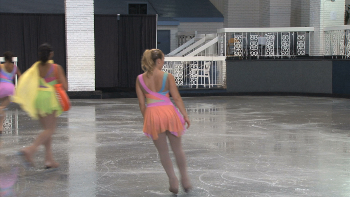 Ice Skating Show with Four Women 2