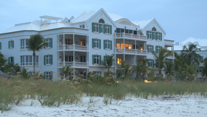 Large Mansion House on the Beach