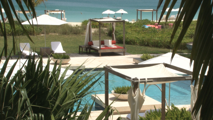 Turks and Caicos Island Hotel Resort Poolside 4
