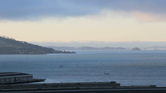 Time Lapse Sunset San Francisco Warf