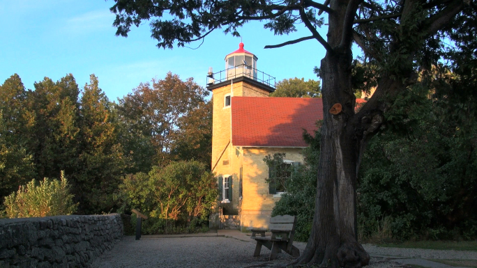 Wisconsin Eagle Bluff Lighthouse