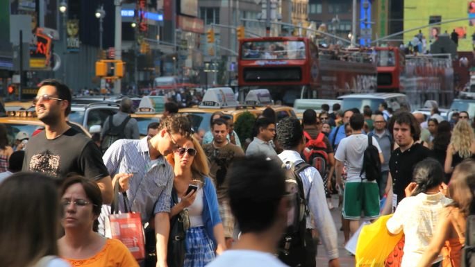 Times Square Crowds 4