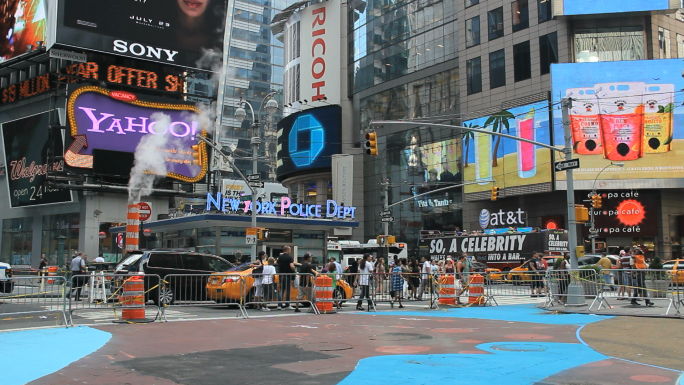 Times Square Billboards and JumboTrons
