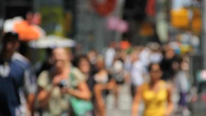 Sidewalk Traffic of NYC Focus Shift