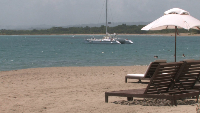Dominican Republic Catamaran Beach