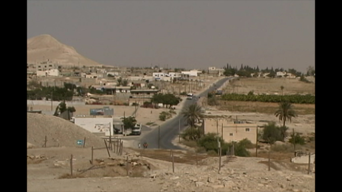 Israel Palestine Road by Tell Jericho