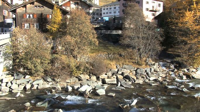 Switzerland Tilts from Rhine