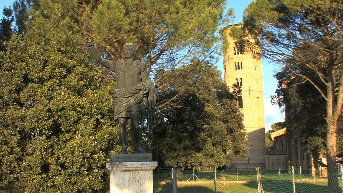 Italy Roman Emperor Statue 2