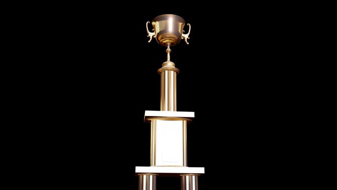 Transparent Trophy Alpha Channel Loop