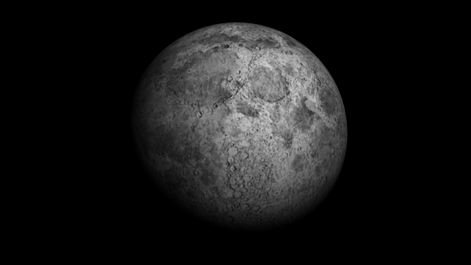 Transparent Alpha Channel Moon