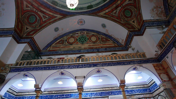 Mosque Interior Ceiling and Lighting 2