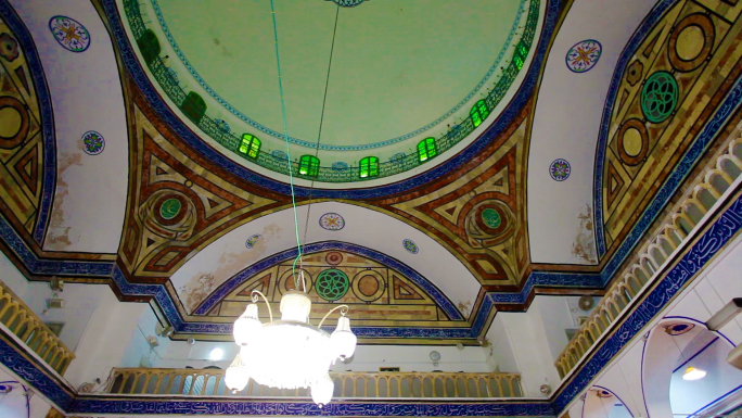 Mosque Interior Ceiling and Lighting 5
