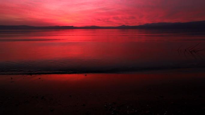 Sunset at Sea of Galilee 4