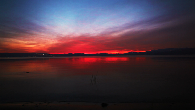 Sunset at Sea of Galilee 5
