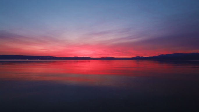 Sunset at Sea of Galilee 6