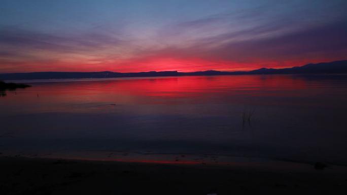 Sunset at Sea of Galilee 7