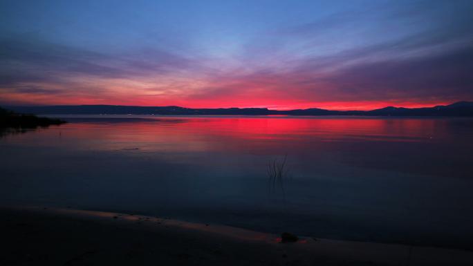 Sunset at Sea of Galilee 8