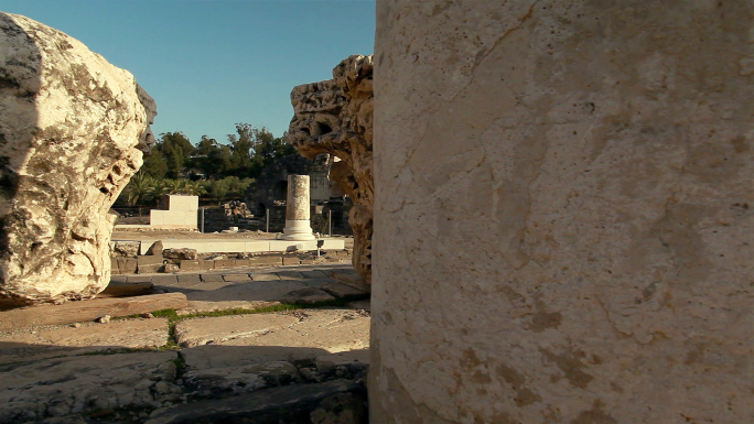 Rubble and Ruins at Beit Shean in Israel 4