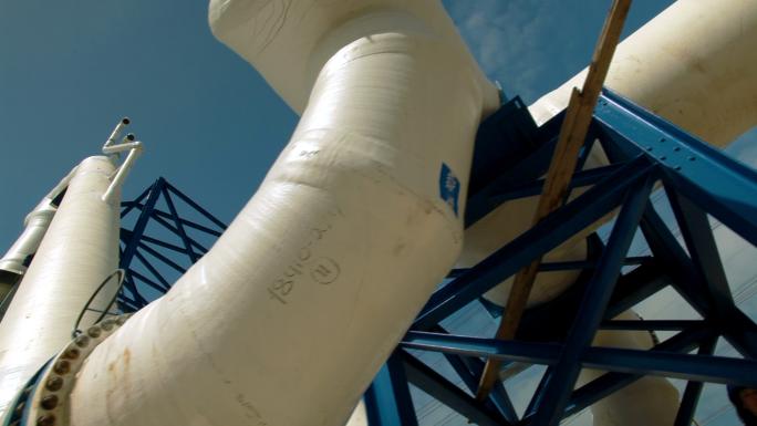 Pipes at Ashkelon Seawater Reverse Osmosis Plant 2