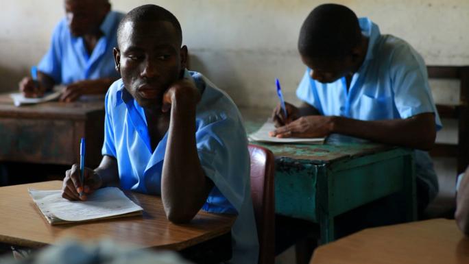 School Boy in Class in Kenya 4