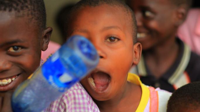 Kenya Kids Looking at the Camera and Smiling 3