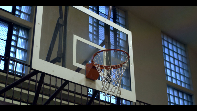 Basketball Shot in Slow Motion