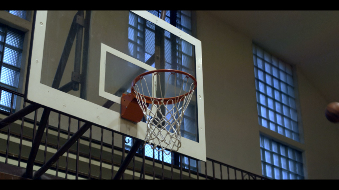 Basketball Shot in Slow Motion 3