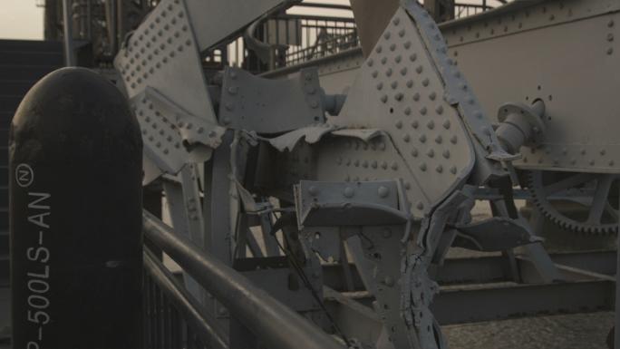 Damage Done to Friendship Bridge in China