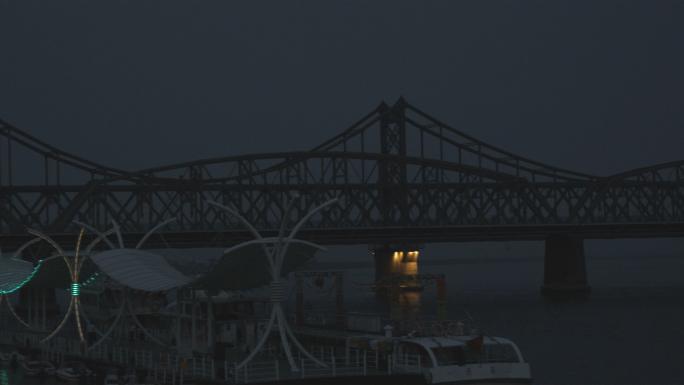 Broken Bridge from DanDong to North Korea