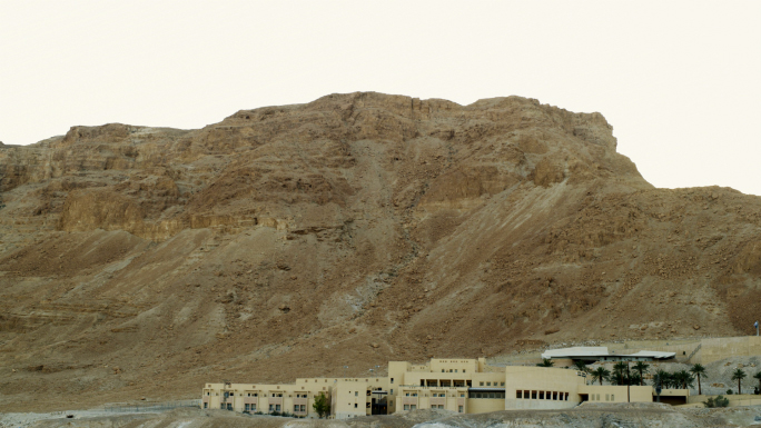 White Building In Mountains 4