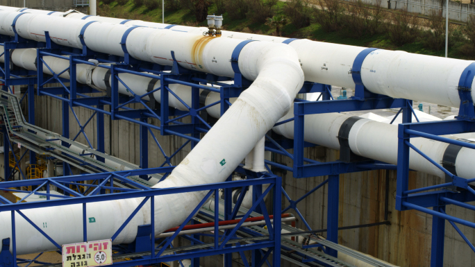 Pipeline In Factory Area 2
