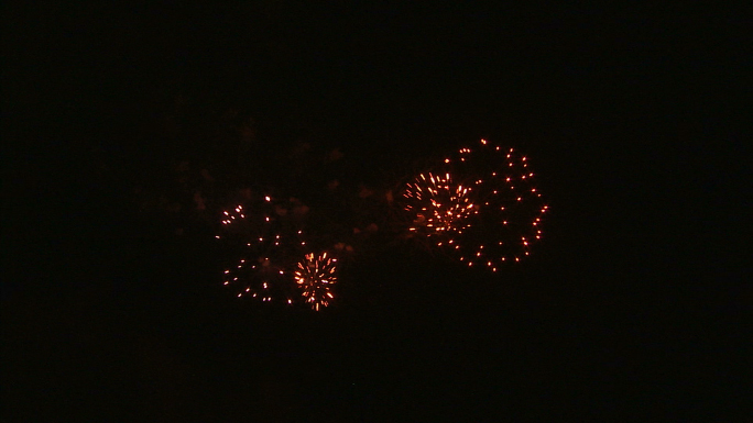 Fireworks Exploding in the Night Sky 9
