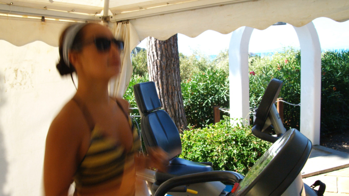 Woman On Treadmill 2
