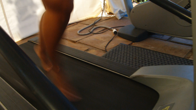 Woman On Treadmill 3