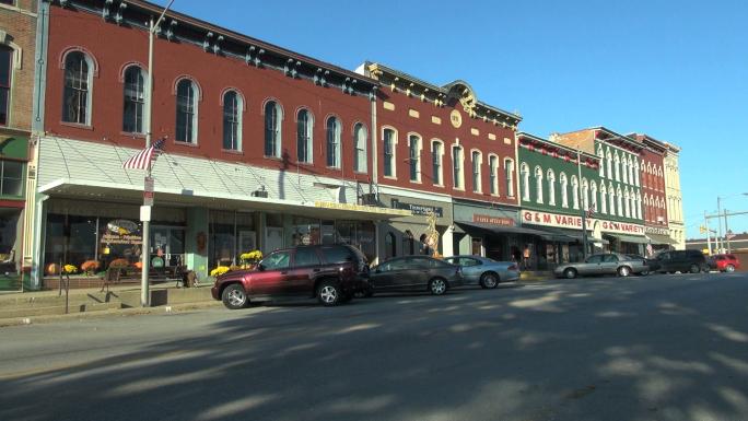 Shops Along Town Main Street 3