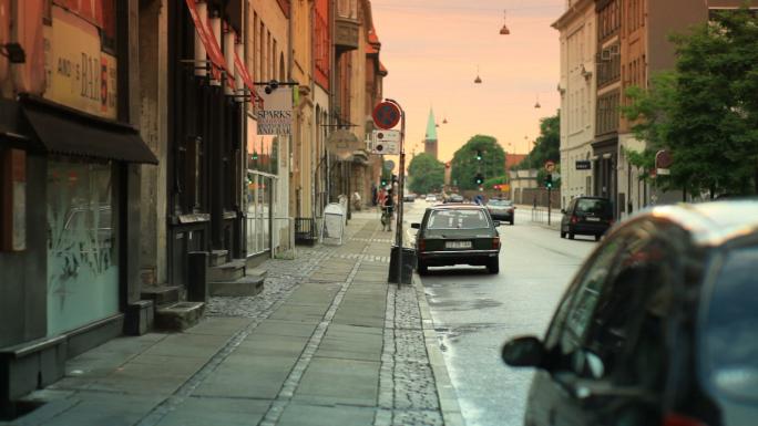 Street Traffic in Copenhagen Denmark 11