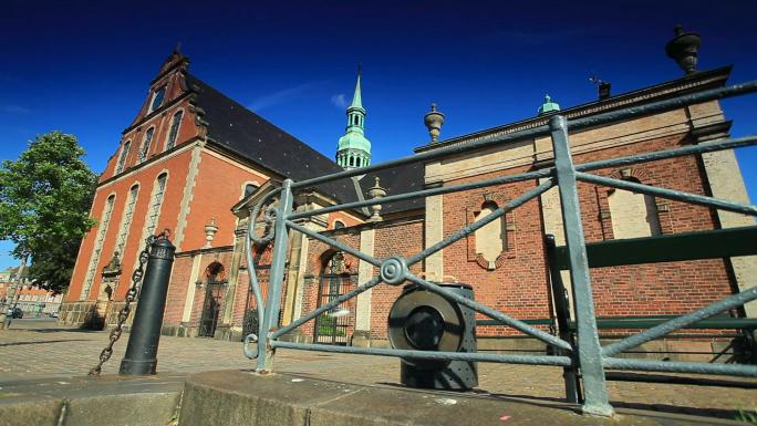 Exterior View of Copenhagen Church