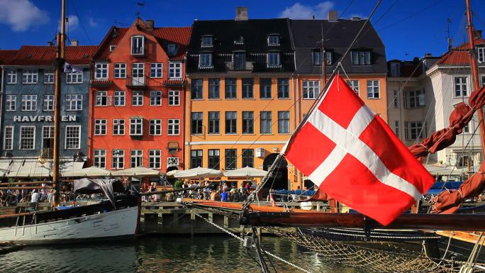 Boat Harbor in Copenhagen, Denmark 3