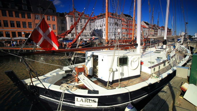 Boat Harbor in Copenhagen, Denmark 4
