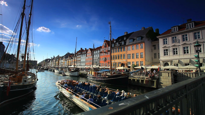 Boat Harbor in Copenhagen, Denmark 5