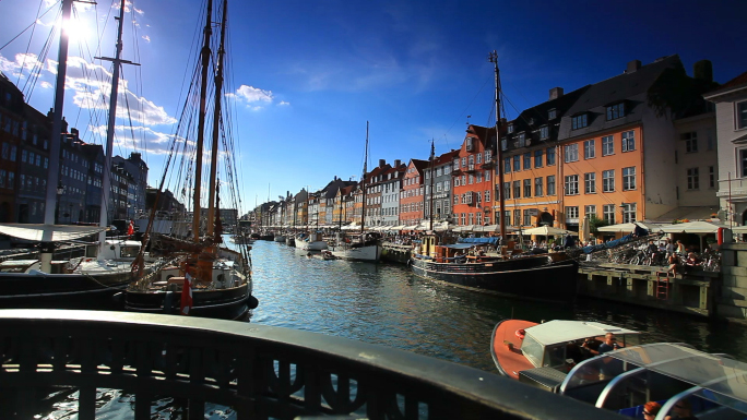Boat Harbor in Copenhagen, Denmark 6