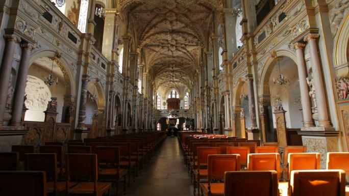 Interior View of Church in Copenhagen 3